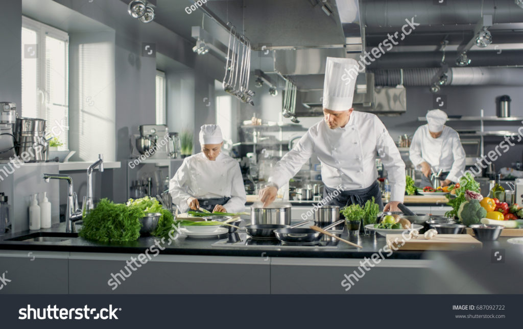 picture of a chef cooking