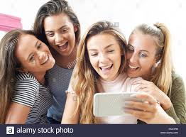 Image result for picture of a girl taking a selfie
