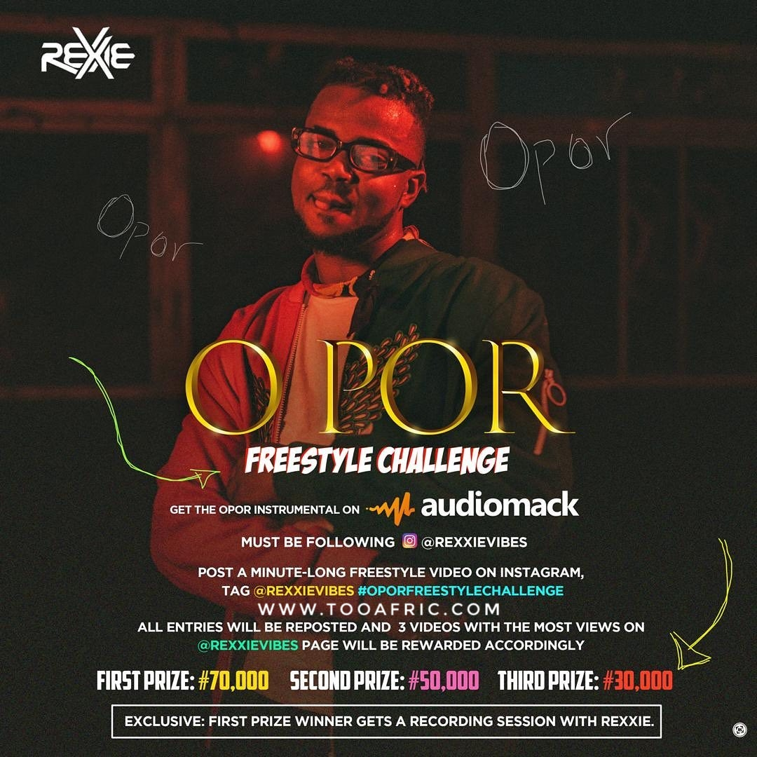 Rexxie o por freestyle challenge instrumental - tooafric.com